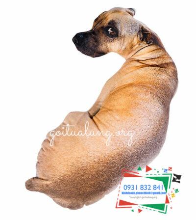 Gối ôm 3D hình chó
