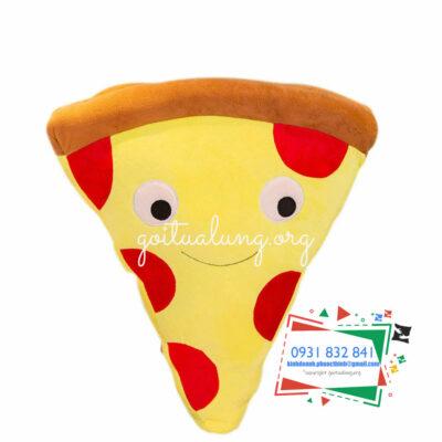 sản xuất gối ôm 3d hình pizza theo yêu cầu