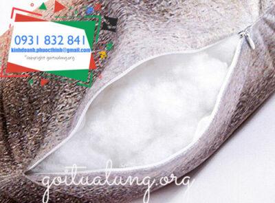 sản xuất ruột gối ôm bằng bông gòn công nghiệp tốt